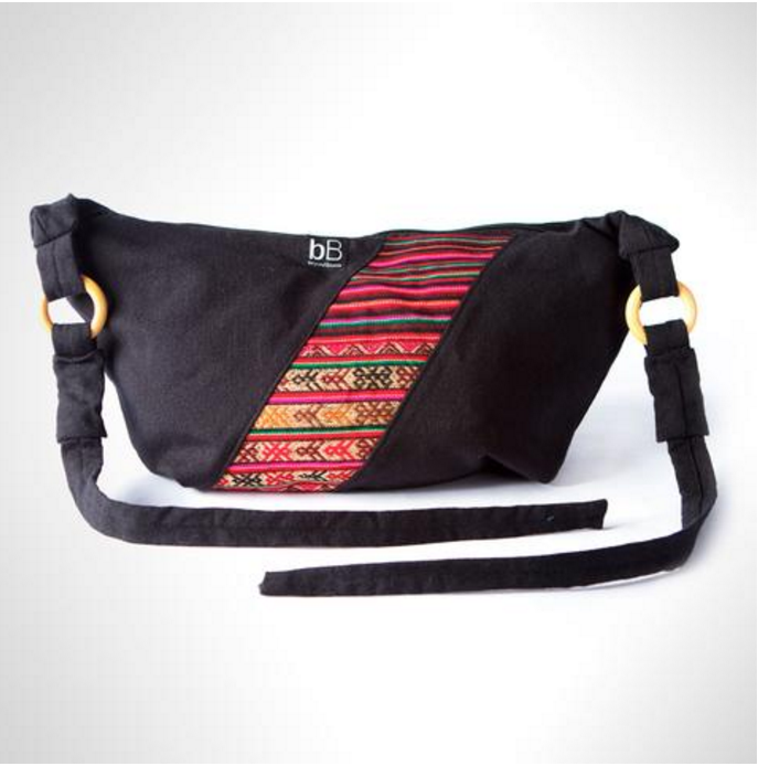 Black Andina Charity Bag - NorthPoint Yoga