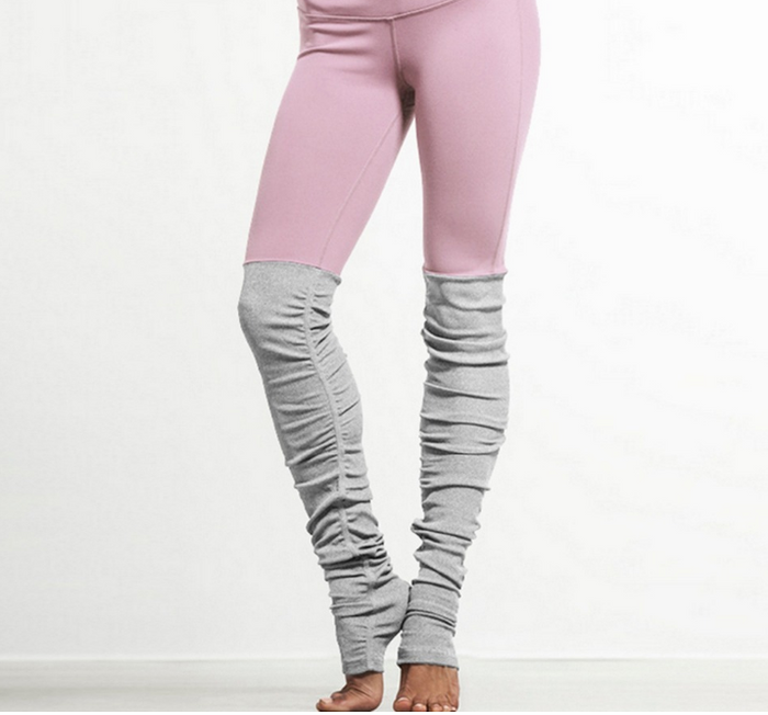 Pink Bi-Color Leggings