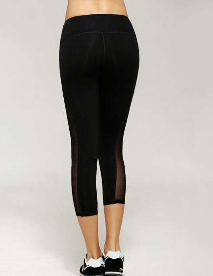 Compression Mesh Yoga  Leggings - NorthPoint Yoga