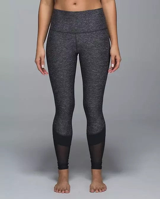 Elastic Compression Mesh Leggings - NorthPoint Yoga