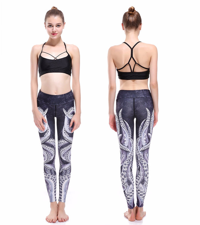 Octopus Yoga Legging - NorthPoint Yoga