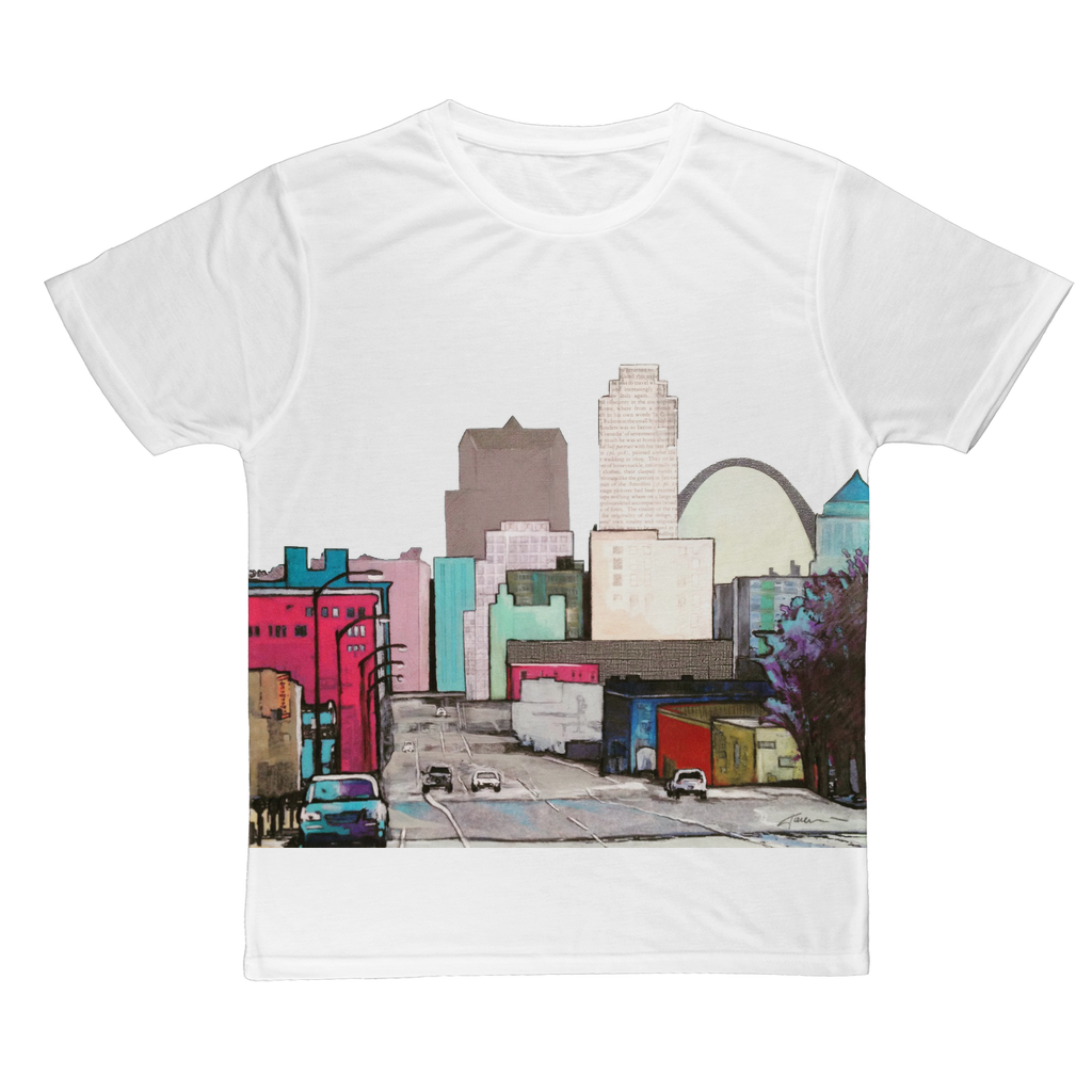 All over T-shirt - St. Louis - pink