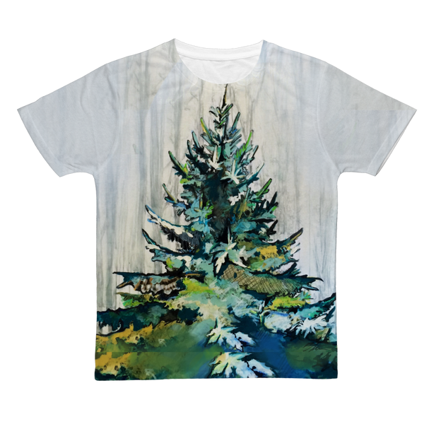 Winter Tree - Adult T-Shirt
