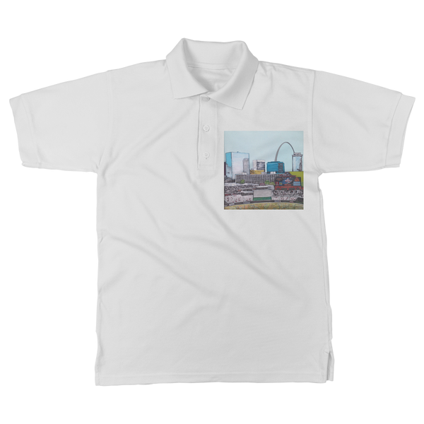 St. Louis stadium Classic Adult Polo Shirt