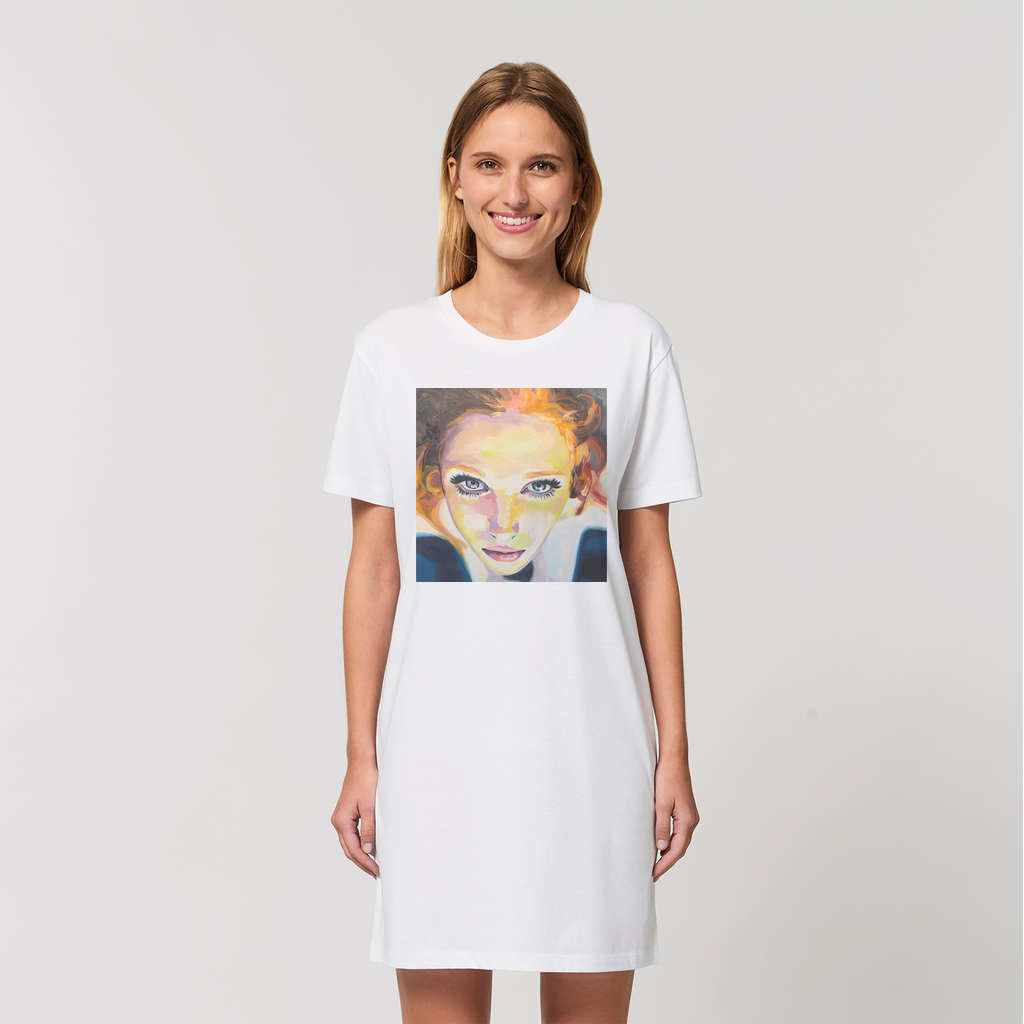 Optimism - Organic T-Shirt Dress
