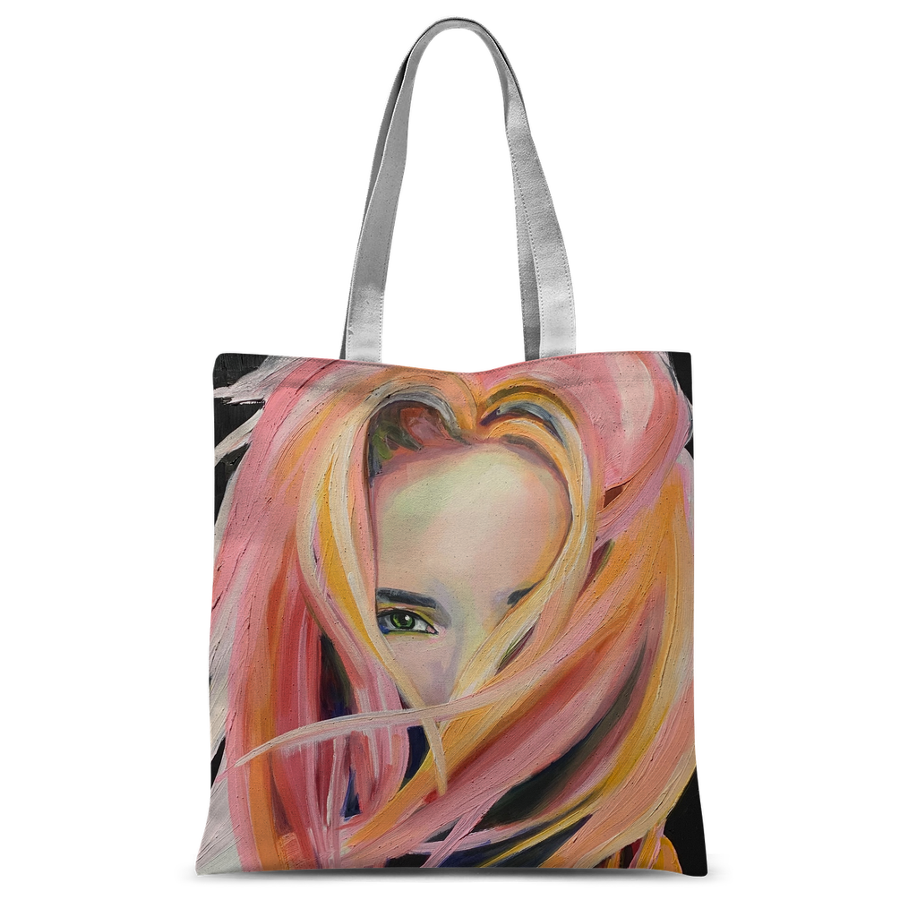 Love - Classic Sublimation Tote Bag