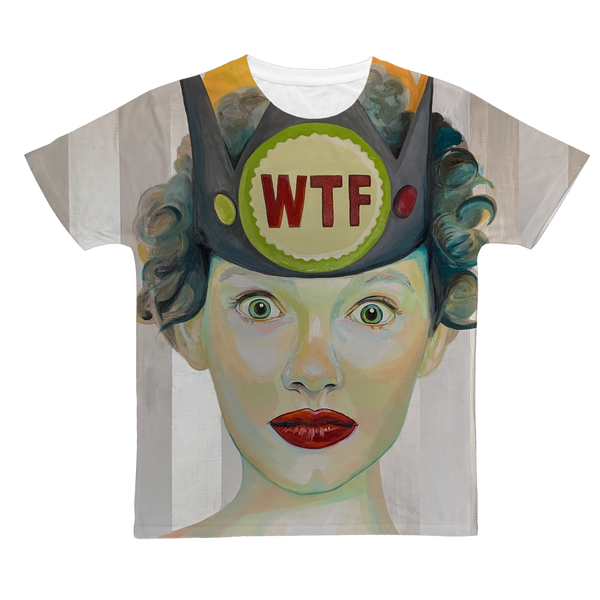 WTF Classic Allover Adult T-Shirt