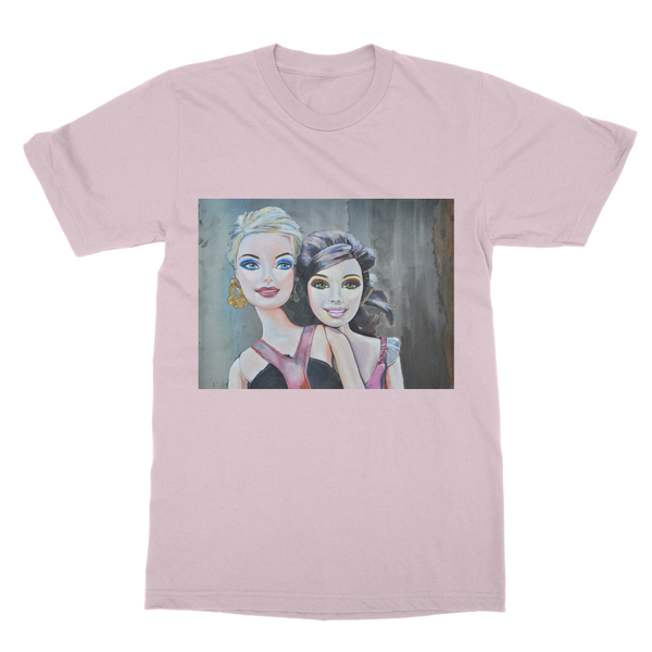 Classic Adult T-Shirt - Barbie & Midge