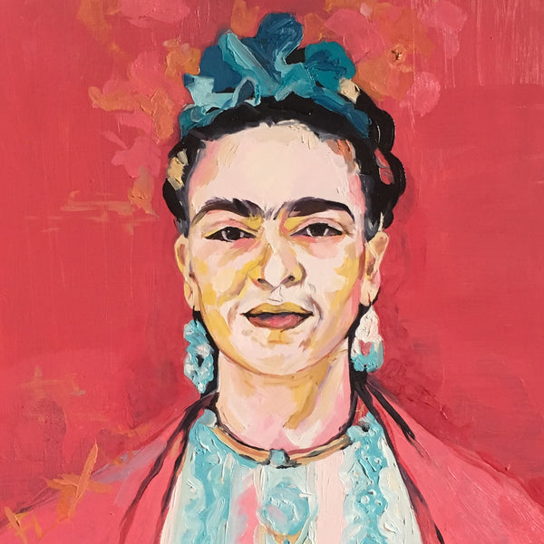 'What would Frida Paint if she wasn't broken' oil painting original
