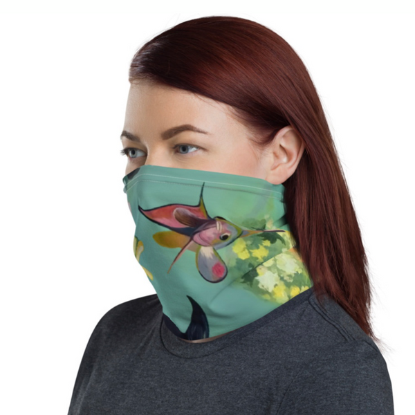 Mask / Neck Gaiter / Scarf - fishies