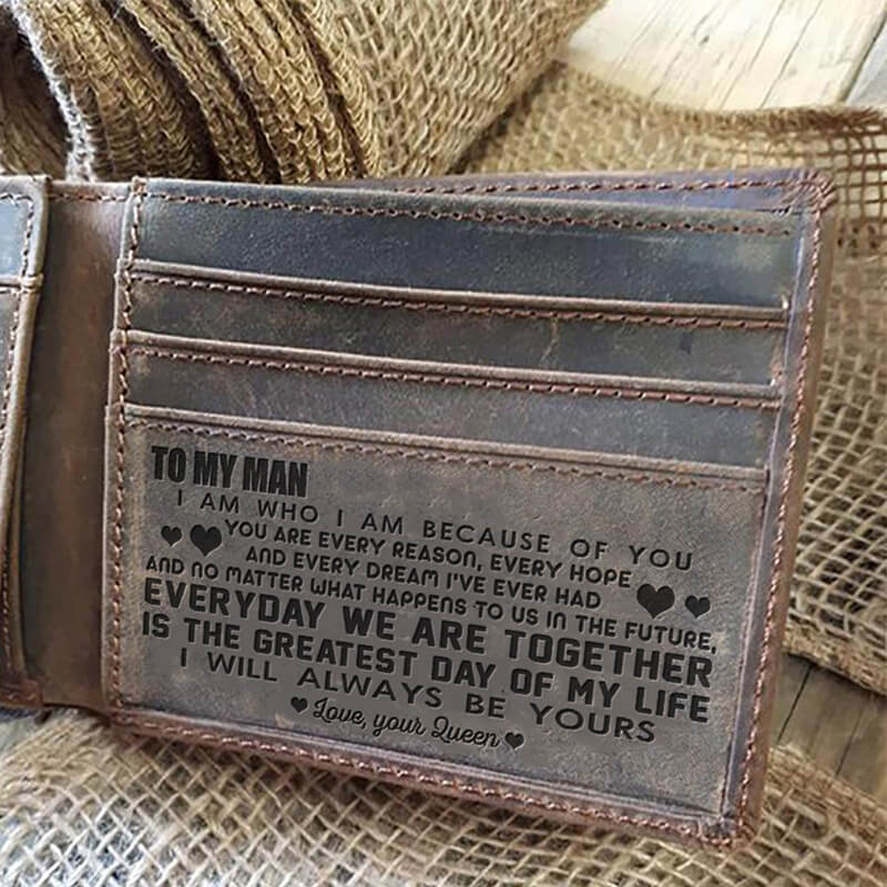 To My Man - Every Reason (Leather Wallet)