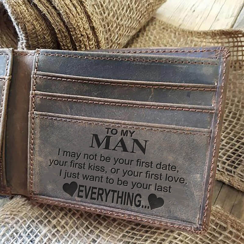 To My Man (Leather Wallet)
