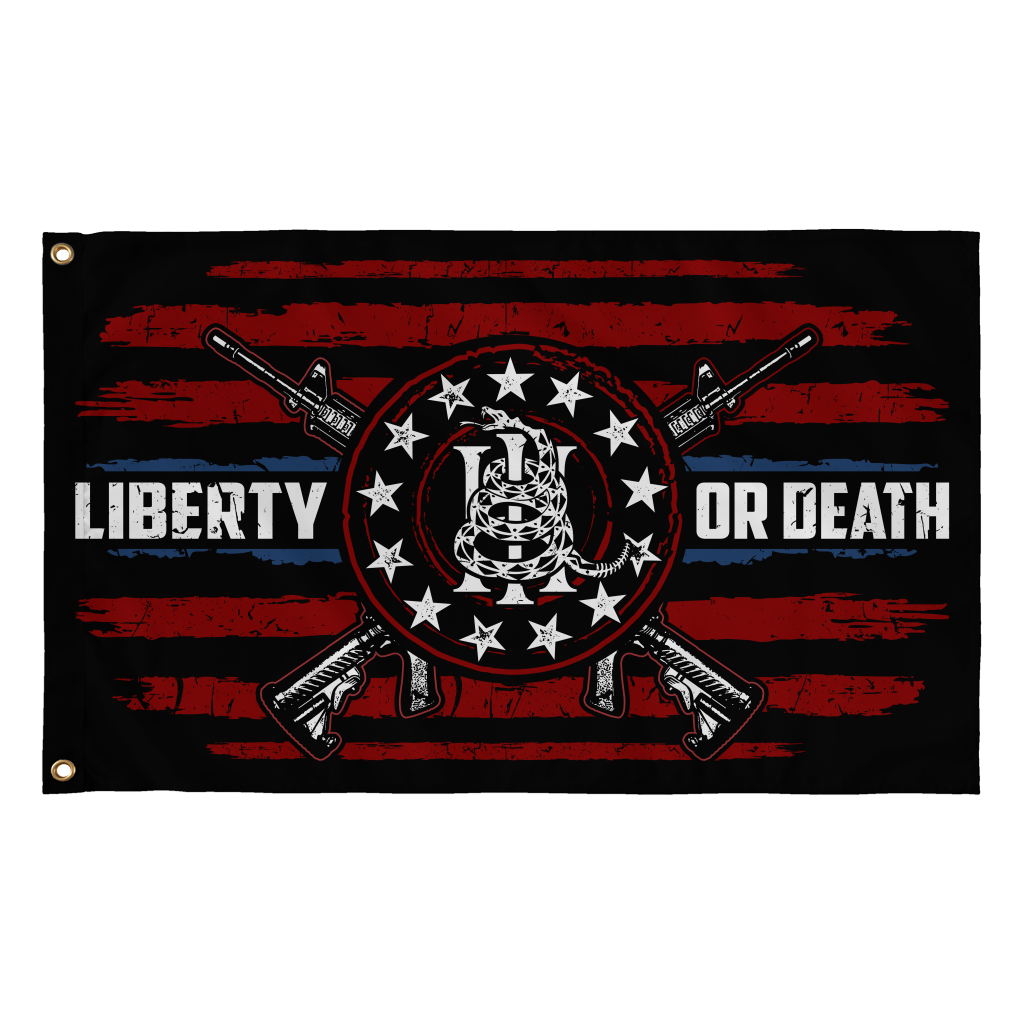 Liberty or Death! (Flag)