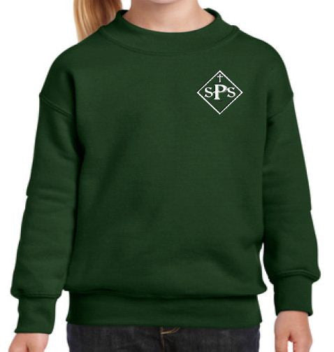 Youth Gildan Fleece Crewneck Sweatshirt
