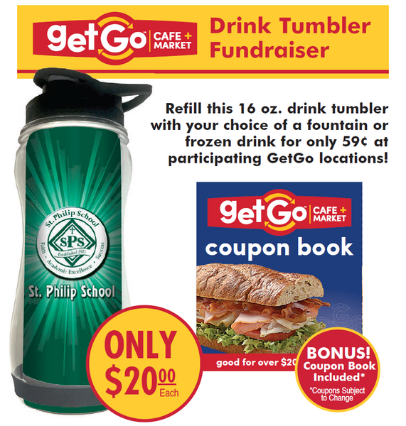 Get Go Refillable Tumbler