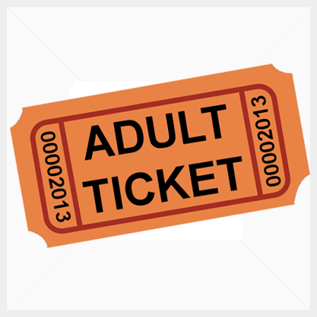 THE LITTLE MERMAID JR Musical Adult Ticket
