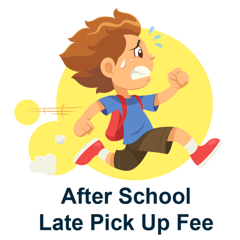Afterschool Late Fees