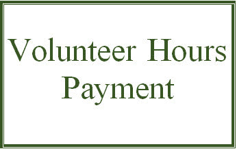 Volunteer Hours Opt-Out Payment