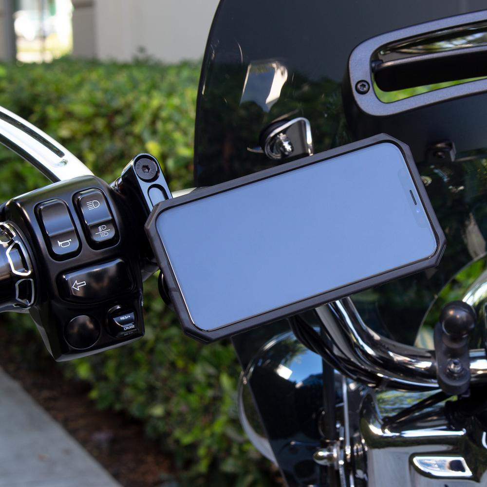 Rokform - HD Clutch Perch Phone Mount Fits Most Harley's
