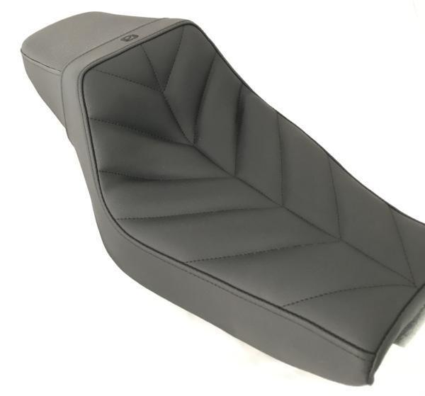 Zero Hour Chevron Step-Up Sportster Seat 2004+