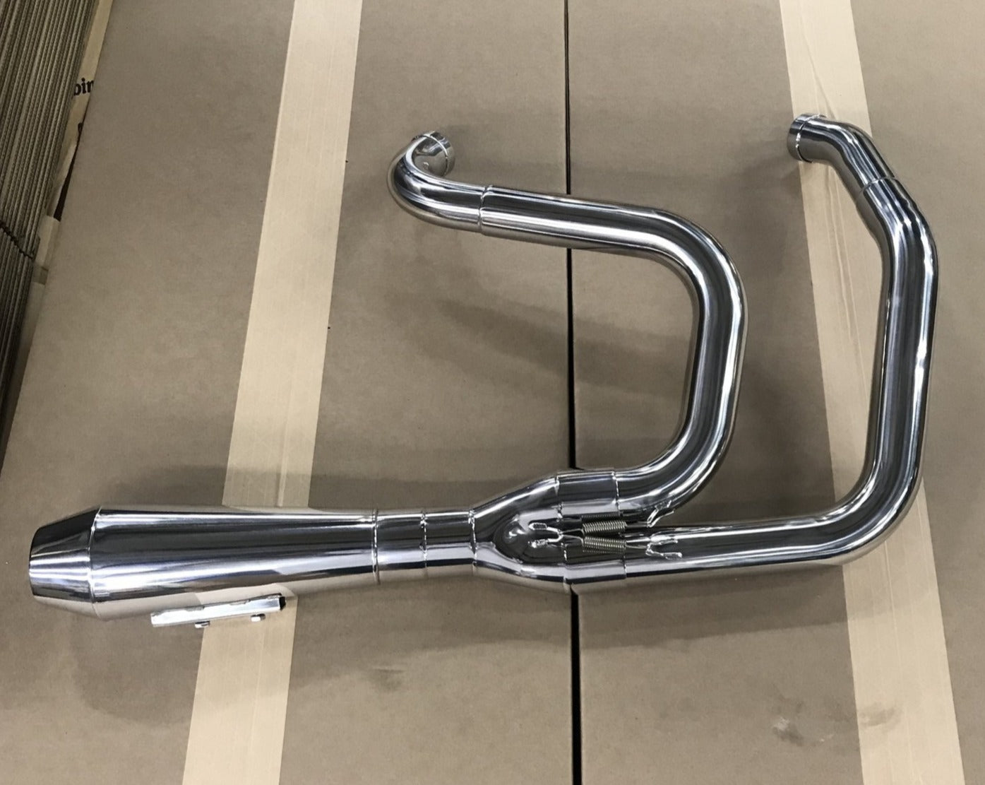 Zero Hour 2-1 Stainless Exhaust System for 99-03 & 04-20 Sportster