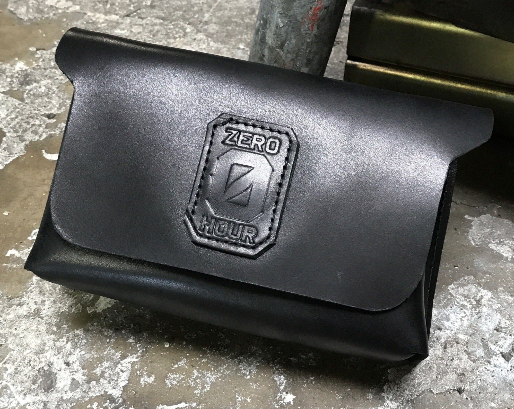 Zero Hour Leather Handlebar Bag