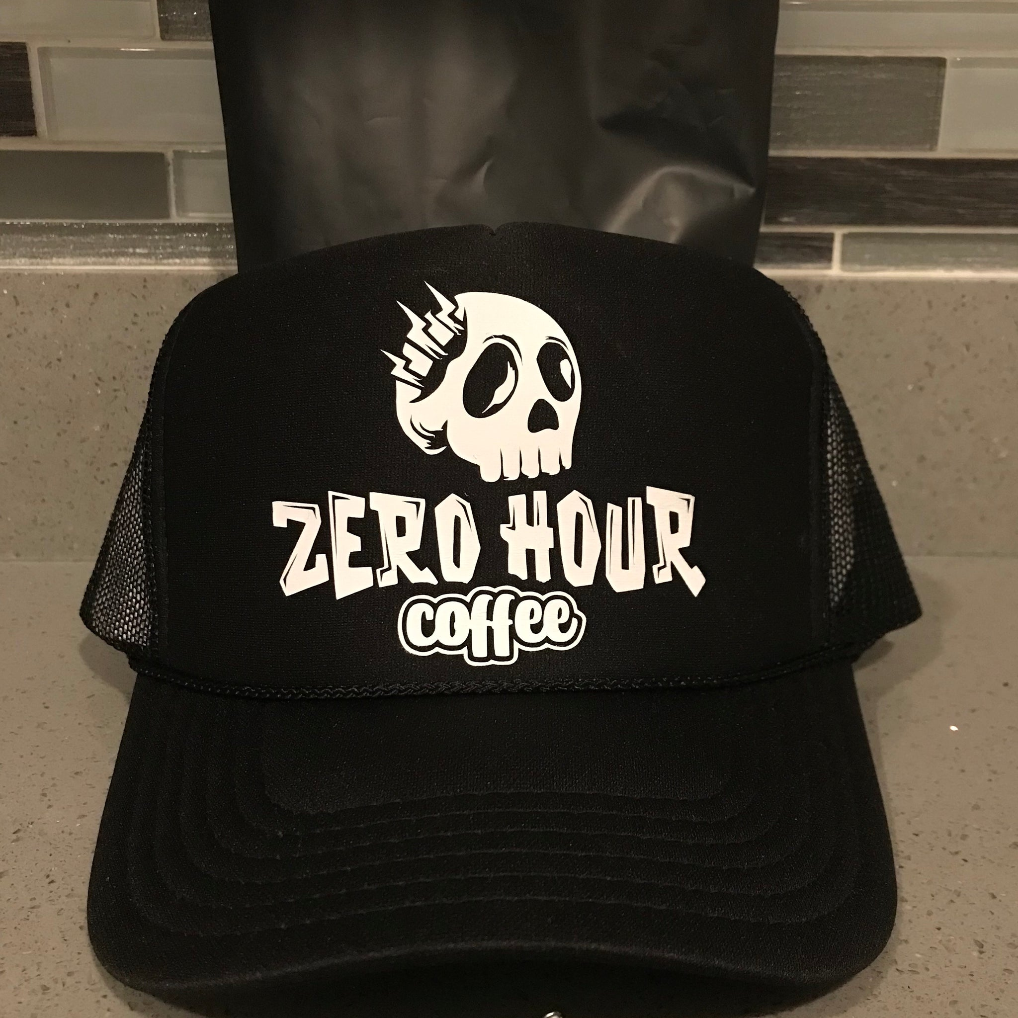 Zero Hour Coffee Trucker Hat