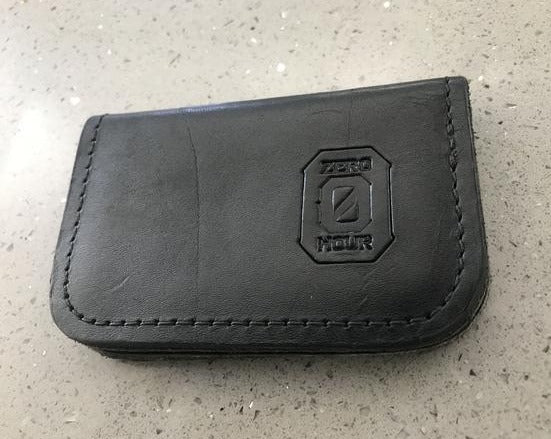 Zero Hour Leather Wallet - Card Keeper