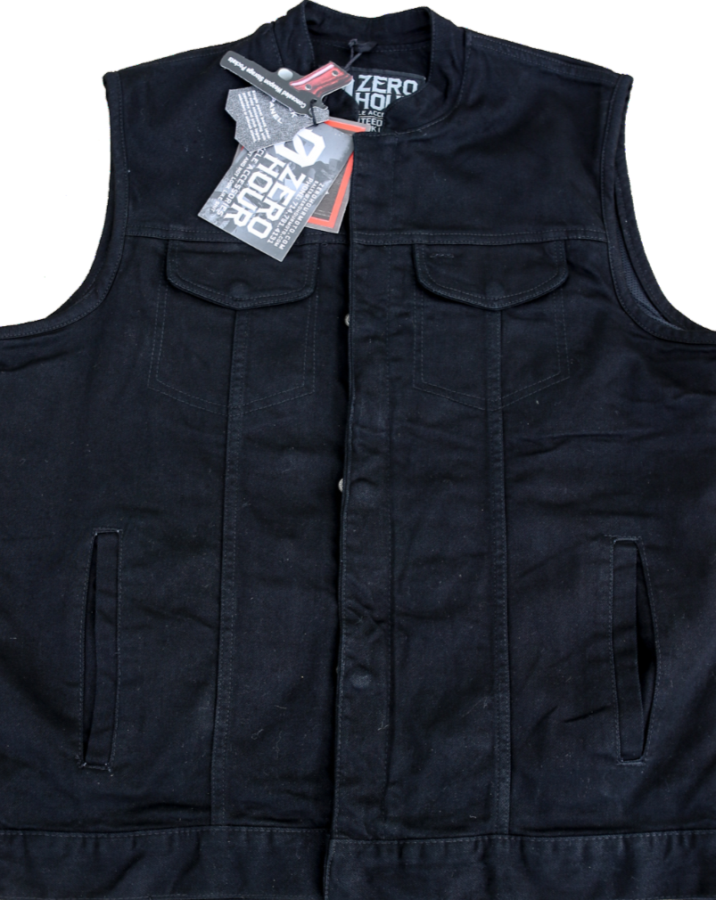 ZERO HOUR VEST - Denim