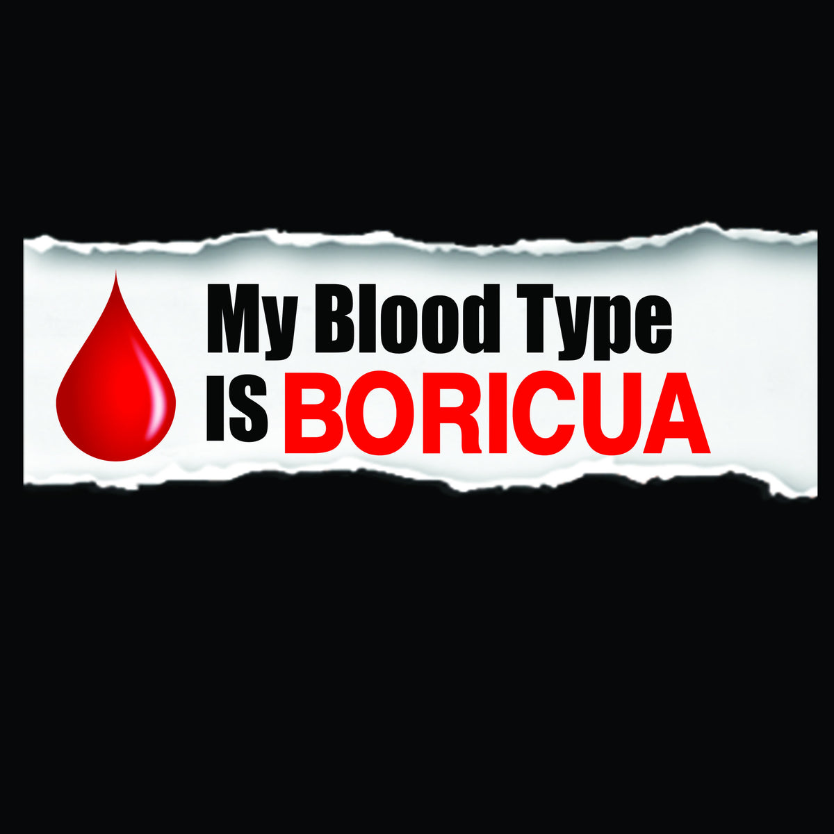 Blood Type Boricua