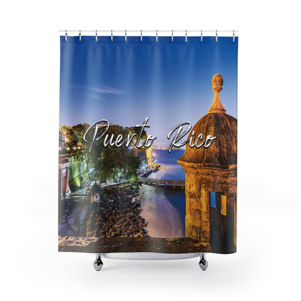 Puerto Rico 2 Shower Curtains