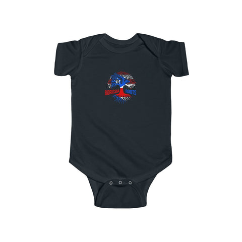 Boricua Roots B/R Infant Fine Jersey Bodysuit