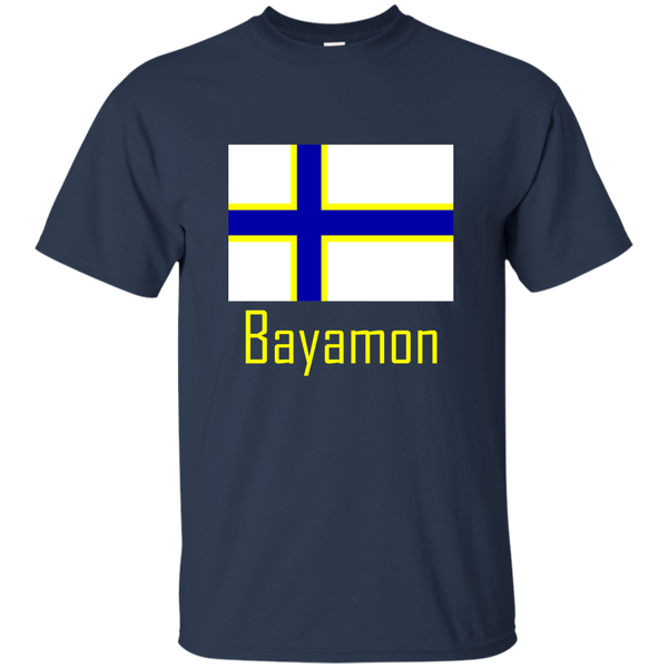 Bayamon Flag G200 Gildan Ultra Cotton T-Shirt - PR FLAGS UP