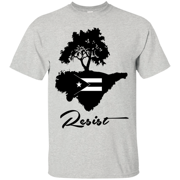 Resist G200 Gildan Ultra Cotton T-Shirt - PR FLAGS UP