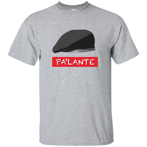 PA'LANTE Custom Ultra Cotton T-Shirt - PR FLAGS UP
