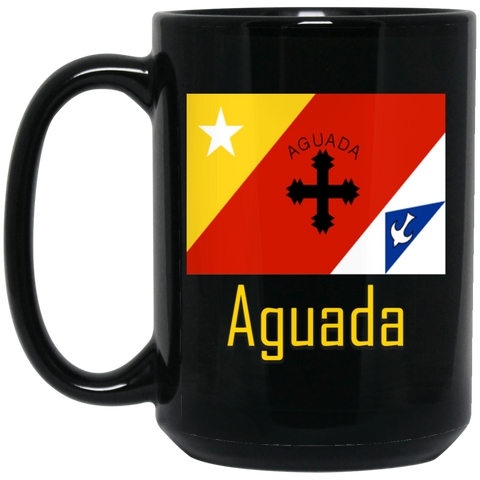 Aguada Flag BM15OZ 15 oz. Black Mug