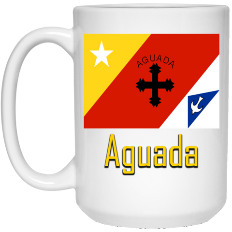 Aguada Flag 21504 15 oz. White Mug