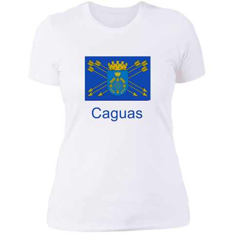 Caguas Flag NL3900 Ladies' Boyfriend T-Shirt