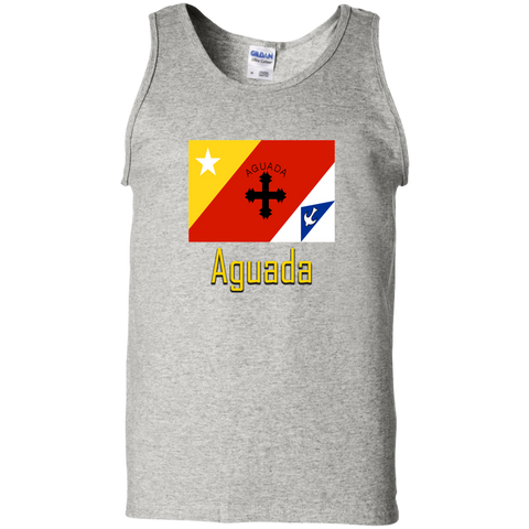 Aguada Flag G220 Gildan 100% Cotton Tank Top - PR FLAGS UP