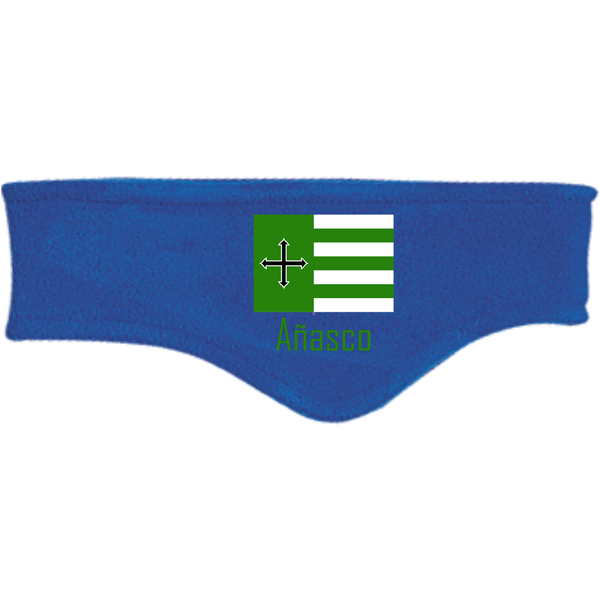 Añasco Flag C910 Port Authority Fleece Headband - PR FLAGS UP
