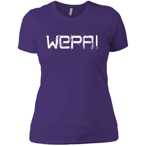 Wepa Next Level Ladies' Boyfriend Tee - PR FLAGS UP