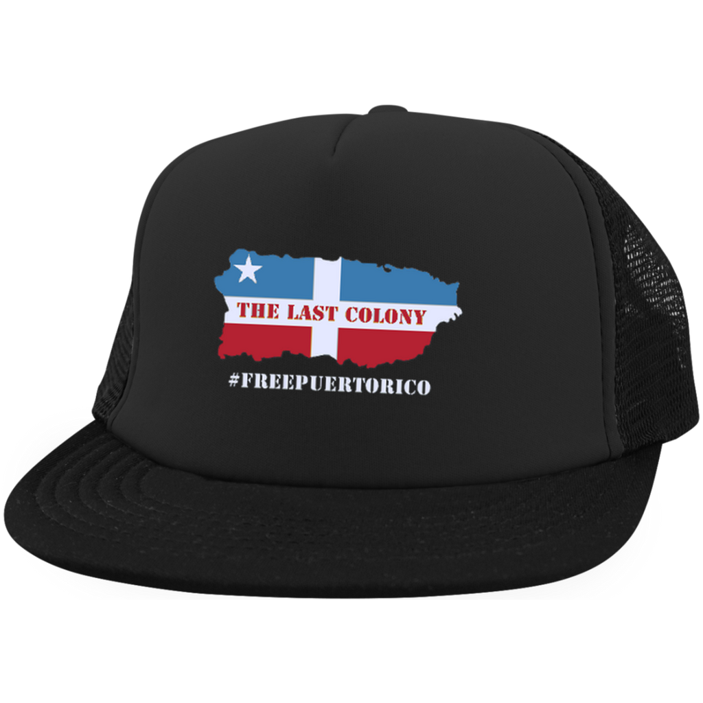 The Last Colony Trucker Hat with Snapback - PR FLAGS UP