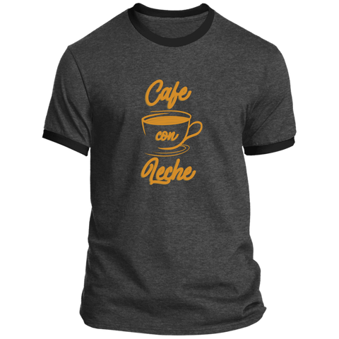 Cafe Con Leche PC54R Ringer Tee