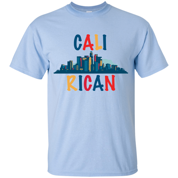 Cali Rican G200B Gildan Youth Ultra Cotton T-Shirt - PR FLAGS UP