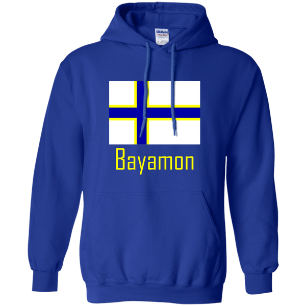 Bayamon Flag G185 Gildan Pullover Hoodie 8 oz. - PR FLAGS UP