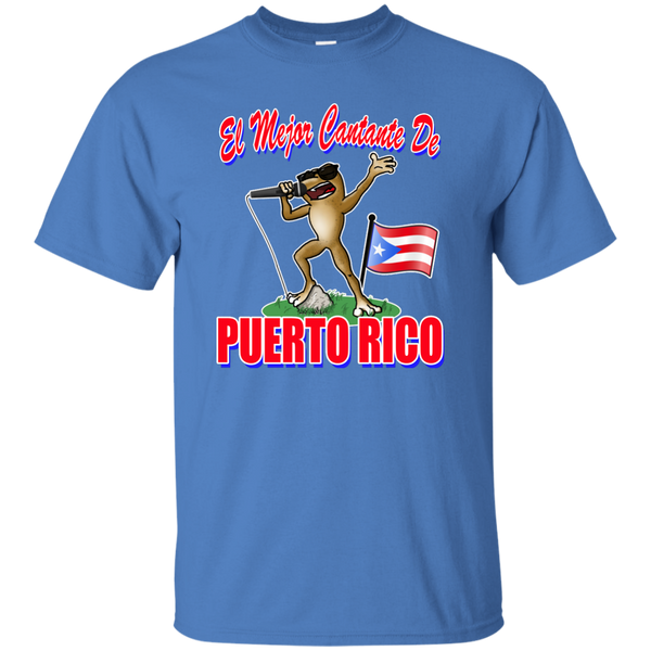 El Mejor Cantante Youth Custom Ultra Cotton Tee - PR FLAGS UP