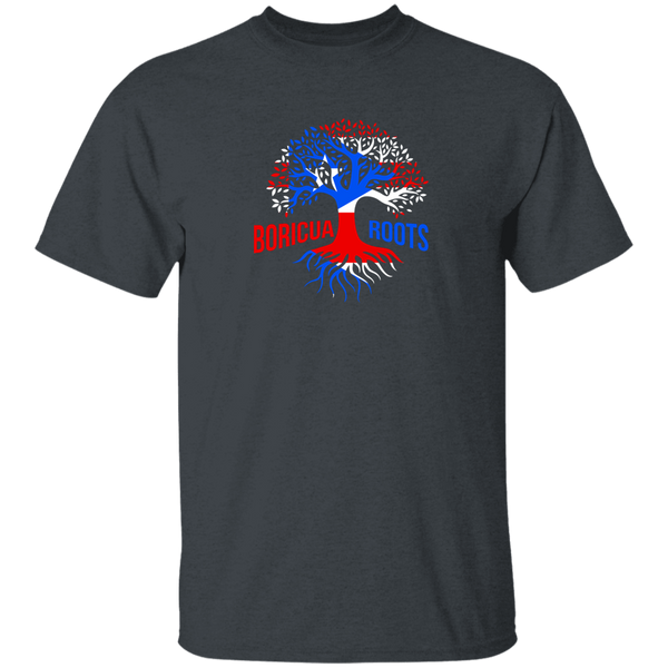 Boricua Roots Flag G500 5.3 oz. T-Shirt