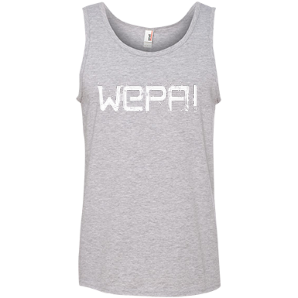Wepa 100% Ringspun Cotton Tank Top - PR FLAGS UP