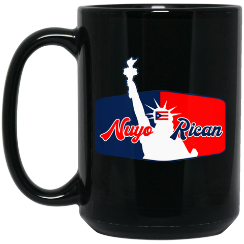 NuyoRican La Bruja Collection BM15OZ 15 oz. Black Mug