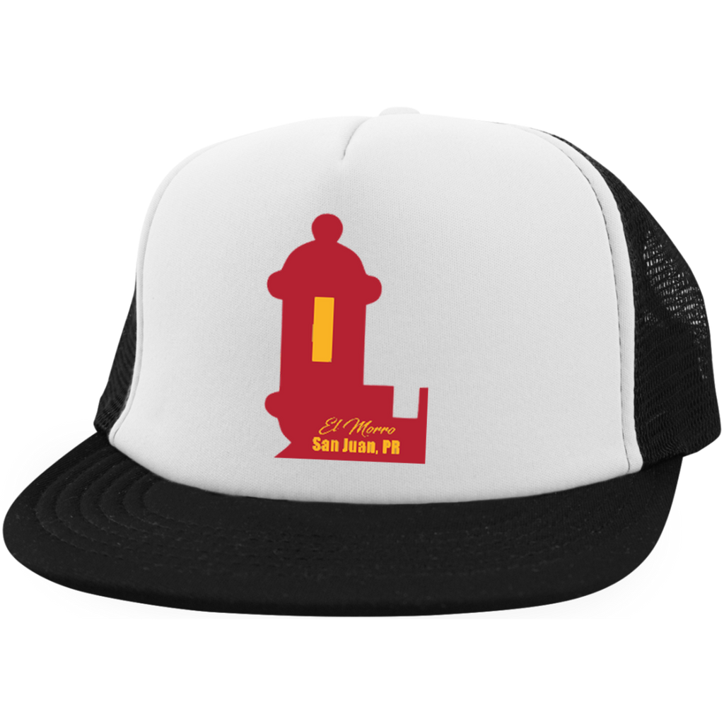 El Morro Trucker Hat with Snapback - PR FLAGS UP